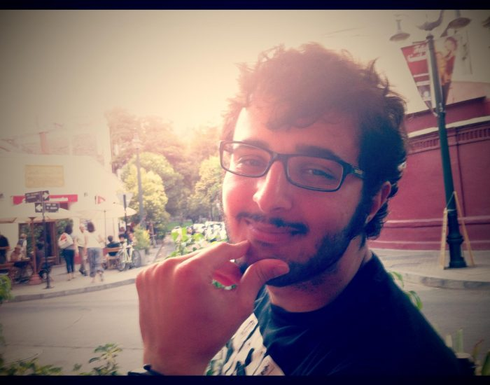 Oguz Serdar chilling in Chile (I just had to say that)