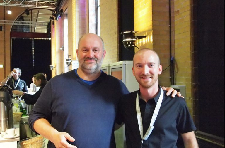 Goran Duskic with Werner Vogels CTO of Amazon
