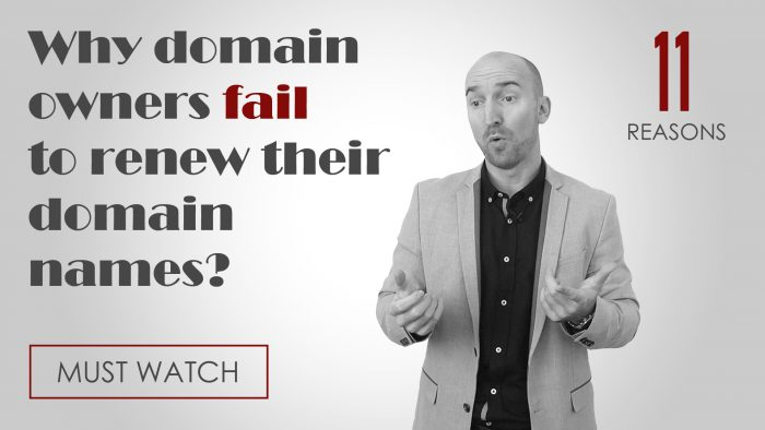 common reasons why domain owners fail to renew their domain name