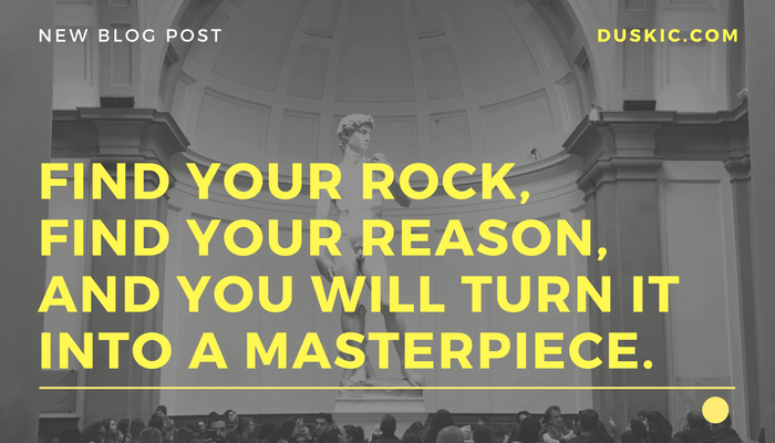 Find your rock - quote