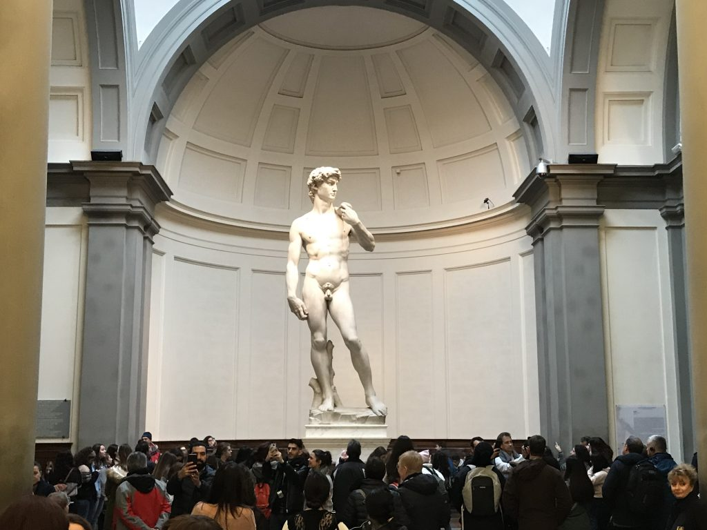 Michelangelo's David - motivation